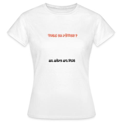 humour - T-shirt Femme