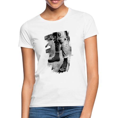botte - T-shirt Femme