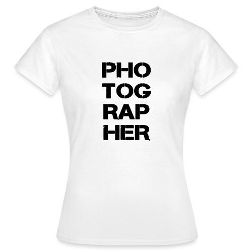 PHOTOGRAPHER - T-shirt Femme