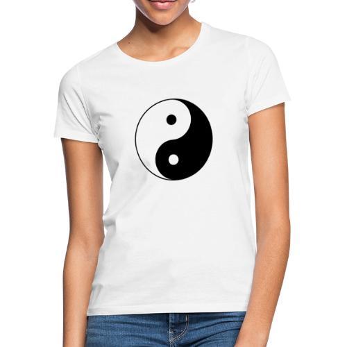 800px Yin yang svg 1 - Frauen T-Shirt