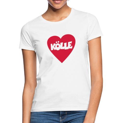I Love Kölle - Ein Herz für Köln - Frauen T-Shirt