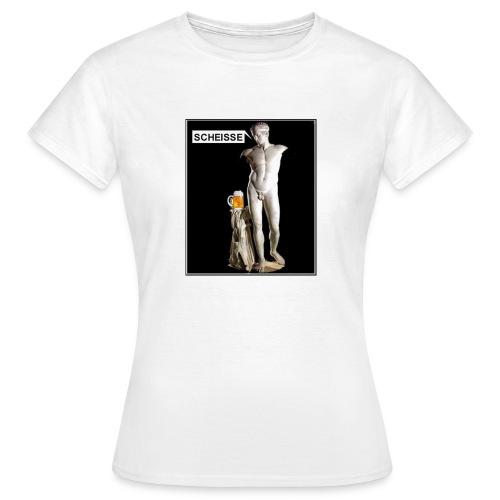 Bier statue - Frauen T-Shirt