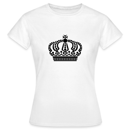 kroon keep calm - Vrouwen T-shirt