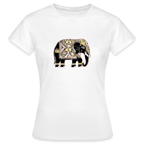 Indian elephant for luck - Women's T-Shirt