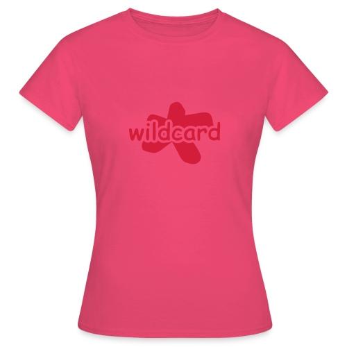 wildcard logo uni - Frauen T-Shirt
