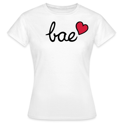 Bae & red heart - Women's T-Shirt