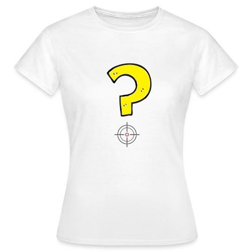 mirino punto di domanda - Maglietta da donna