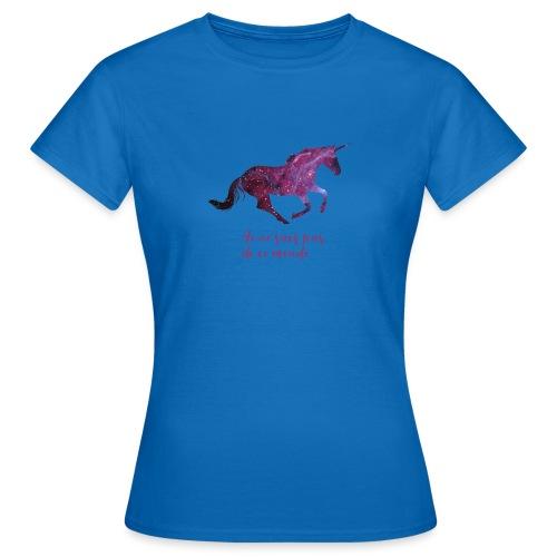 La licorne cosmique - T-shirt Femme