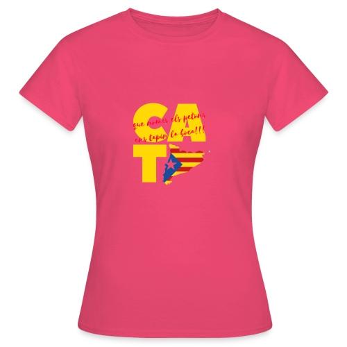 Que nome s els petons ens tapin la boca - Camiseta mujer