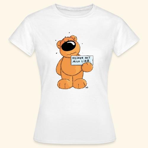 chris bears Keiner hat mich lieb - Frauen T-Shirt