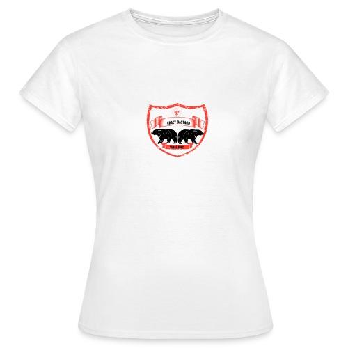 Crazy bastard - Dame-T-shirt