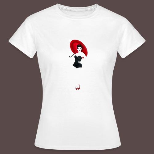 Pin up - Red Umbrella - Maglietta da donna