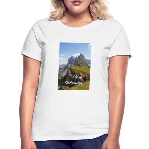 Naturpark Puez Geisler - Frauen T-Shirt
