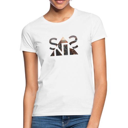 SNST - Sunset Illustration Motiv Colored - Frauen T-Shirt