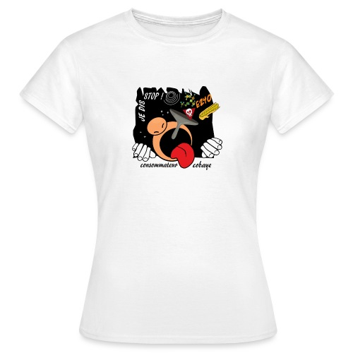 consommateur cobaye - T-shirt Femme