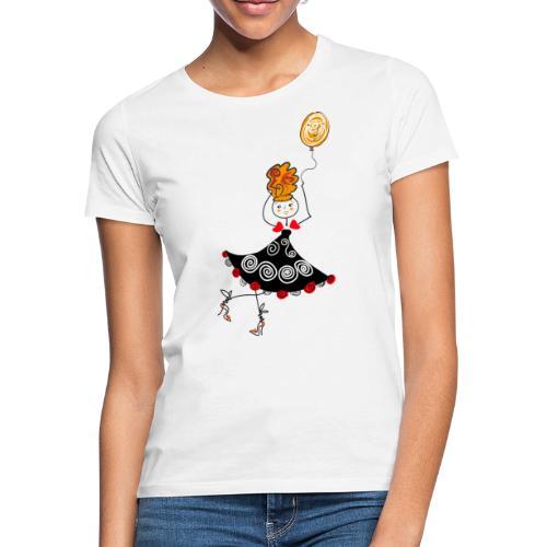 Ballerina con palloncino - Maglietta da donna