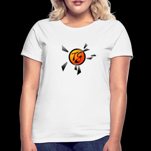 Timmy G orange - T-shirt Femme