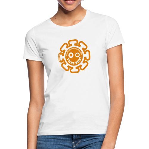 Corona Virus #restecheztoi orange - Camiseta mujer