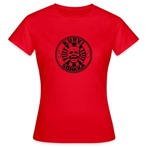 Kurvi - Sörkka - Naisten t-paita