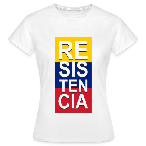 resistencia - Camiseta mujer