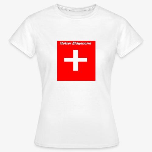 Schweizer Fanshirt - Frauen T-Shirt