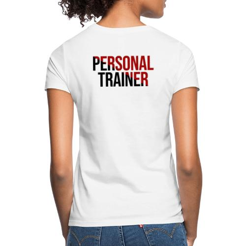 Personal Trainer Red/White - T-shirt Femme