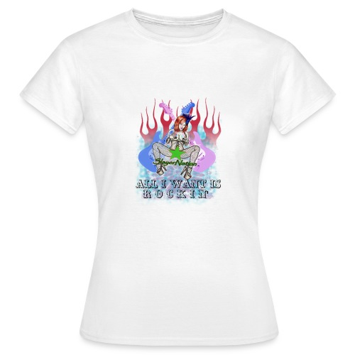 SLAYERNATION2 png - Women's T-Shirt