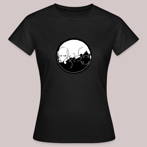 Yin Yang dogs - Maglietta da donna