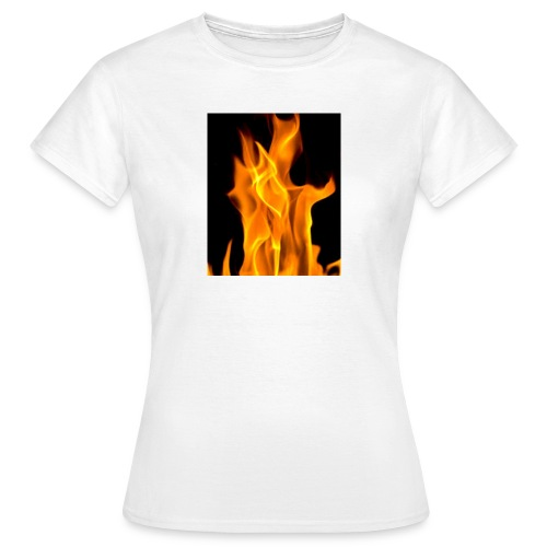 Flamme - T-skjorte for kvinner