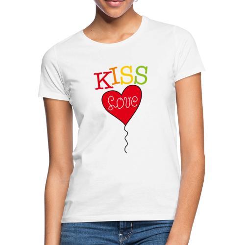 HEART LOVE - Vrouwen T-shirt