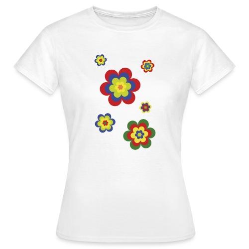 limited edition 3b flower power - Frauen T-Shirt