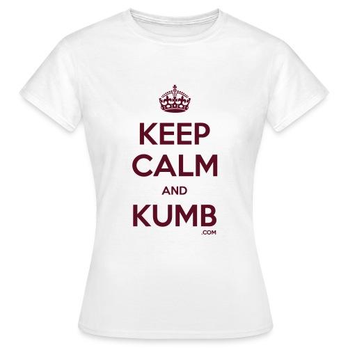Keep Calm and Kumb - Women's T-Shirt