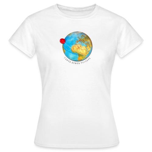planeta-payaso-europa - Camiseta mujer