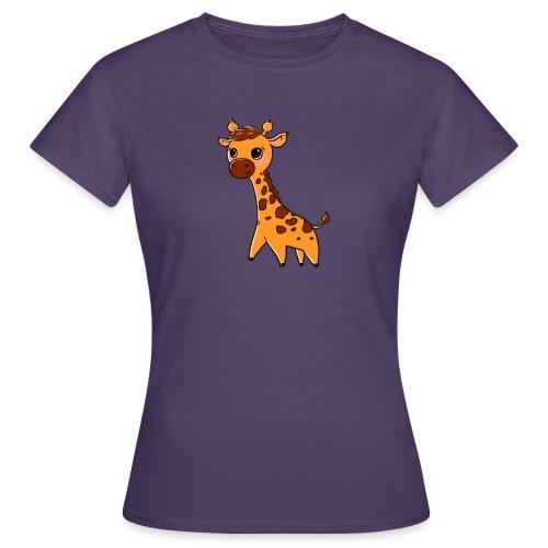 Mini Giraffe - Women's T-Shirt