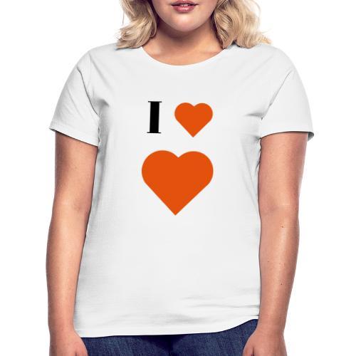 I Heart heart - Women's T-Shirt
