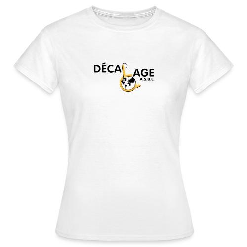 Logo vectoriel grand - T-shirt Femme