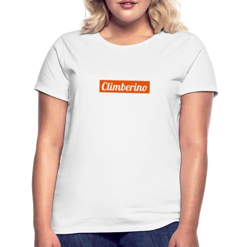 Just Climberino - Extreme White Edition - Frauen T-Shirt