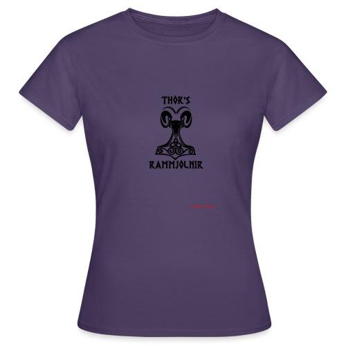 THOR's-RAMMjolnir - T-shirt Femme