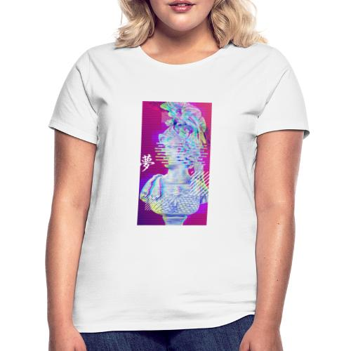 Glitched statue - T-shirt Femme