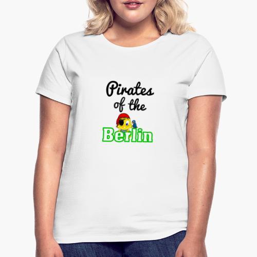 Pirates of the Berlin (schriftzug schwarz) - Frauen T-Shirt