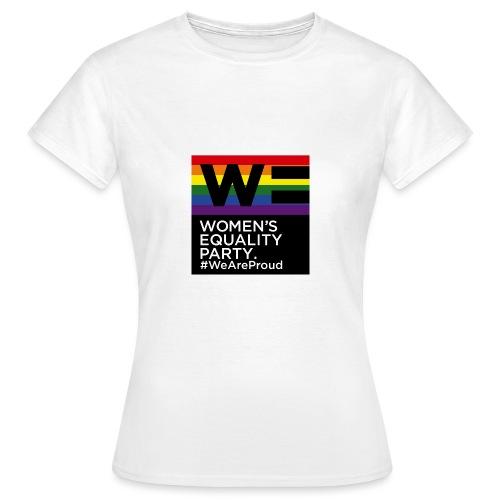 WE_LOGO_PRIDE - Women's T-Shirt