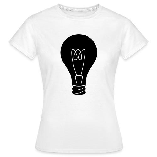 Glühbirne - Frauen T-Shirt