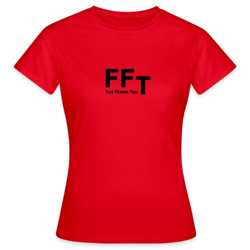 FFT simple logo letters - Women's T-Shirt