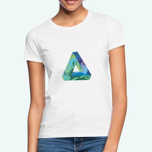 psychedlic triangle - Frauen T-Shirt