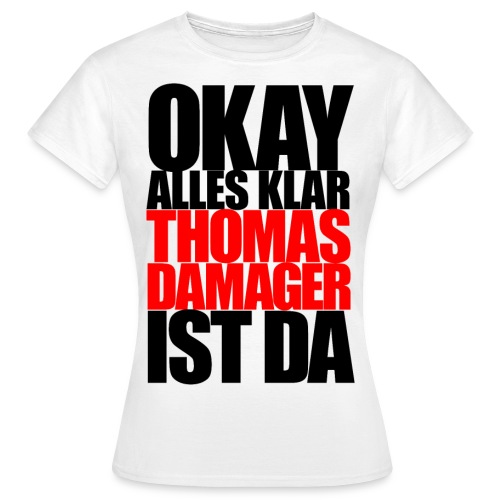 okayallesklar black - Frauen T-Shirt