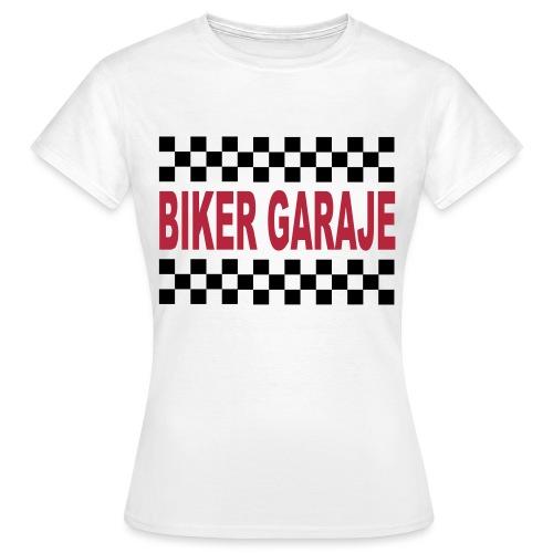 Biker Garaje Racing - Camiseta mujer