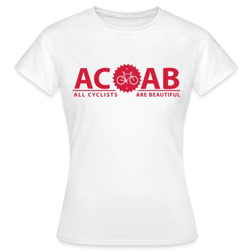 ACAB ALL CYCLISTS - Frauen T-Shirt