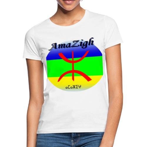 Drapeau Amazigh Signe Tifinagh Berbère - T-shirt Femme