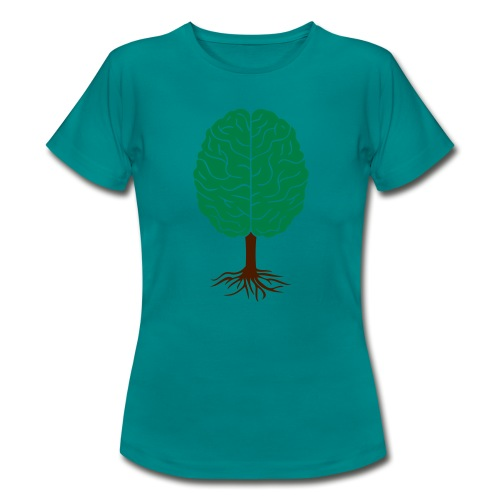 Brain tree - Vrouwen T-shirt