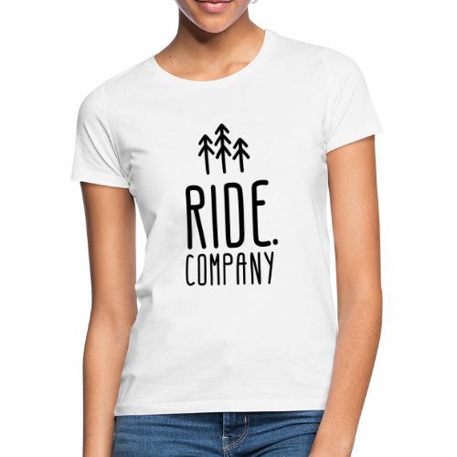 RIDE.company Logo - Frauen T-Shirt